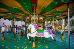En karusell Royaltyfri Bild