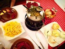 En kinesisk fondue arkivfoton