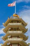 En kinesisk pagod av Hat Yai royaltyfria bilder