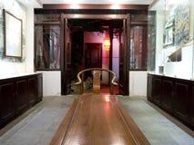 En kinesisk soffa Arkivbild