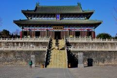 En kinesisk tempel Royaltyfri Foto