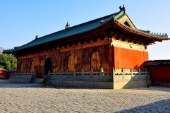 En kinesisk tempel Arkivfoton