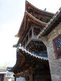 En kinesisk traditionell byggnad Royaltyfria Bilder