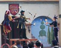 En klanTynker show, Arizona renässansfestival Arkivbilder