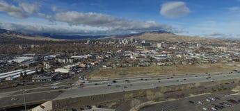 En klar dag i Reno royaltyfri fotografi