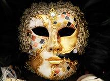 En klar maskering eller karneval royaltyfria foton
