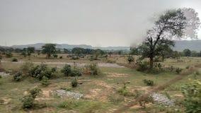 En klick från drevet av kullen royaltyfri bild