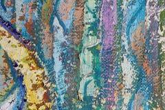 En konstnärs palett Arkivbilder