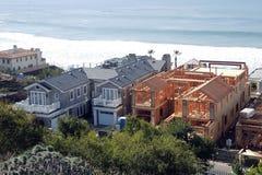 En konstruktionsplats i sydliga Kalifornien royaltyfri fotografi
