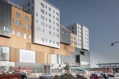 En konstruktionsplats i Vestamager royaltyfri foto