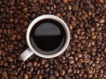En kopp av coffe Arkivfoton