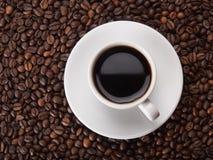 En kopp av coffe Royaltyfria Foton