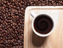 En kopp av coffe Fotografering för Bildbyråer