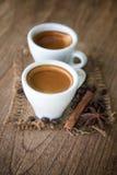 En kopp av espresso Fotografering för Bildbyråer