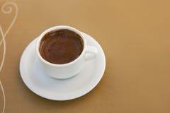 En kopp av kaffe Royaltyfri Bild