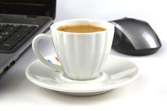 En kopp av kaffe Arkivfoton