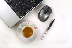 En kopp av kaffe Royaltyfria Bilder