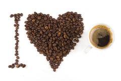 En kopp av kaffe Arkivfoto