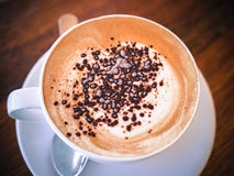 En kopp kaffe Royaltyfri Bild