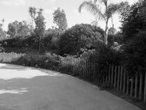 En korridor i zoo royaltyfria foton