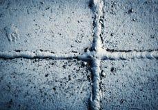 En kors formad järnsvetsning Royaltyfri Foto