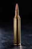 En kula för en Kalashnikov Arkivbilder
