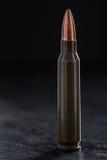 En kula för en Kalashnikov 7 62mm Arkivbilder