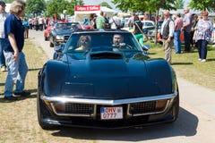 En kupé för sportbilChevrolet Corvette stingrocka Arkivbilder