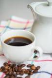 En kupa av kaffe arkivfoto