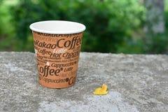 En kupa av kaffe Arkivbilder