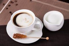 En kupa av kaffe Fotografering för Bildbyråer