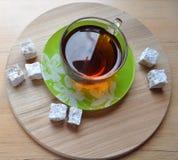En kupa av tea arkivbild