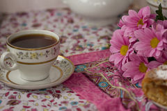 En kupa av tea Arkivfoto