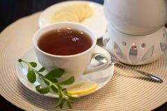 En kupa av tea Arkivbilder