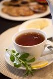 En kupa av tea Arkivfoton