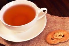 En kupa av tea royaltyfria bilder