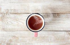 En kupa av tea drink Selektivt fokusera Royaltyfri Bild