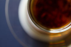 En kupa av tea Top beskådar Arkivfoto