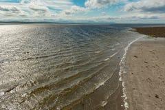 En kust- sikt i Irland Royaltyfria Foton