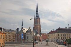 Gator av Stockholm Arkivfoton