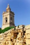 Gozo kyrka Fotografering för Bildbyråer