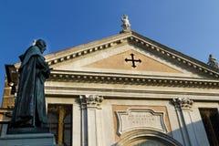En kyrka i Venedig Fotografering för Bildbyråer