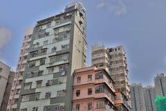 En lägenhet på vägen för kok för chi för kowloon sidolai Royaltyfri Bild