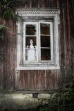En läskig spökeflicka Royaltyfri Fotografi