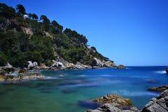 Härlig seascape Royaltyfria Bilder