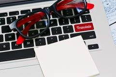 En línea traduzca el concepto Fotos de archivo libres de regalías