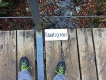 En l'Allemagne et Autriche en m?me temps images libres de droits