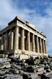 En la acrópolis en Atenas Fotografía de archivo libre de regalías