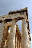 En la acrópolis en Atenas Imágenes de archivo libres de regalías