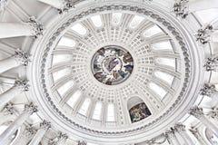 En la bóveda del santo Blaise Fotos de archivo